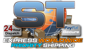 Worldwide priority shipping!