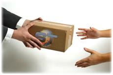 Dostarczenie paczki pod wskazany adres