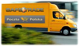 Transport paczki przez Pocztę lub Kuriera
